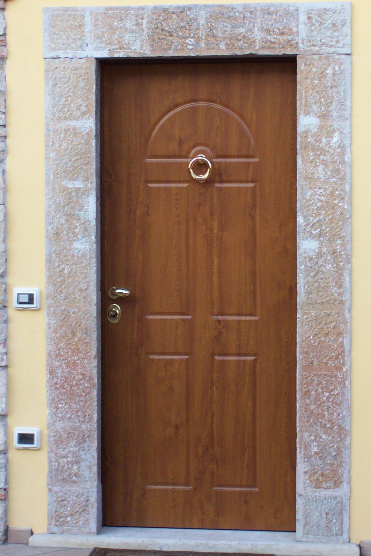 Portoncini porte d 39 ingresso alfa falegnameria for Porte d ingresso