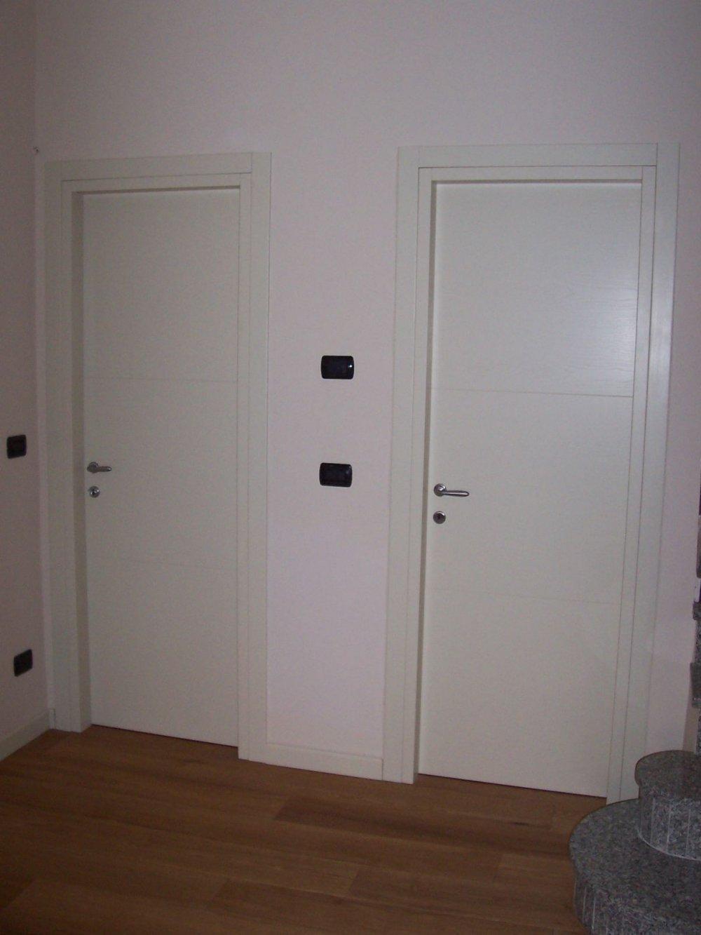 Porte interne legno alluminio pvc alfa falegnameria travagliato brescia - Tipi di porte interne ...